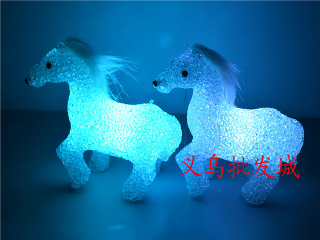 Chollima crystal eye-lantern colorful small night light crystal lamp hot-selling