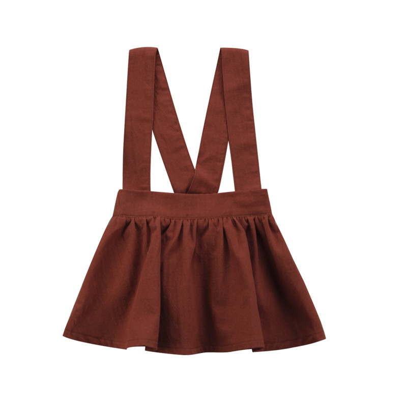 6M-3Y New Style Newborn Baby Girls Brace Skirt Party Tutu Sleeveless Skirt Overalls Skirt
