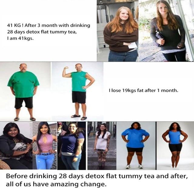 28 Days Natural Slimming Tea Fat Burning Tea for Weight Losing Slimming Healthy Skinny 2019 3