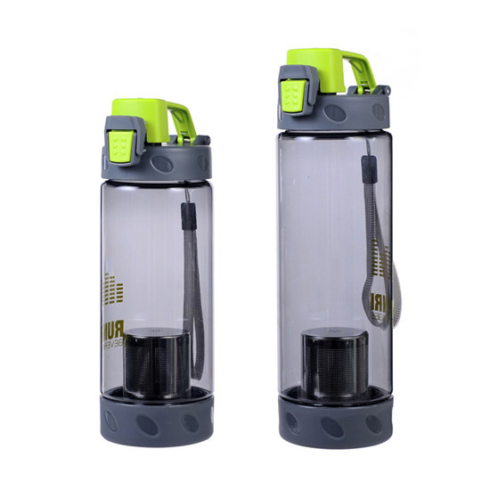 Water Bottle With Powder Shaker