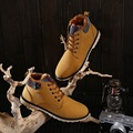 2016 Winter New Men Shoes Hot Style Fashion Casual  Men Warm Boot Korean Style  Fashion Cotton Shoes Non-slip Trend Men Boots