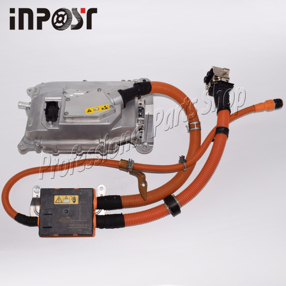 Для Mecedes W221 S400 S-класс Гибридный инвертор аккумулятора конвертер сборки 2215404450, 0045459701, 0009064703