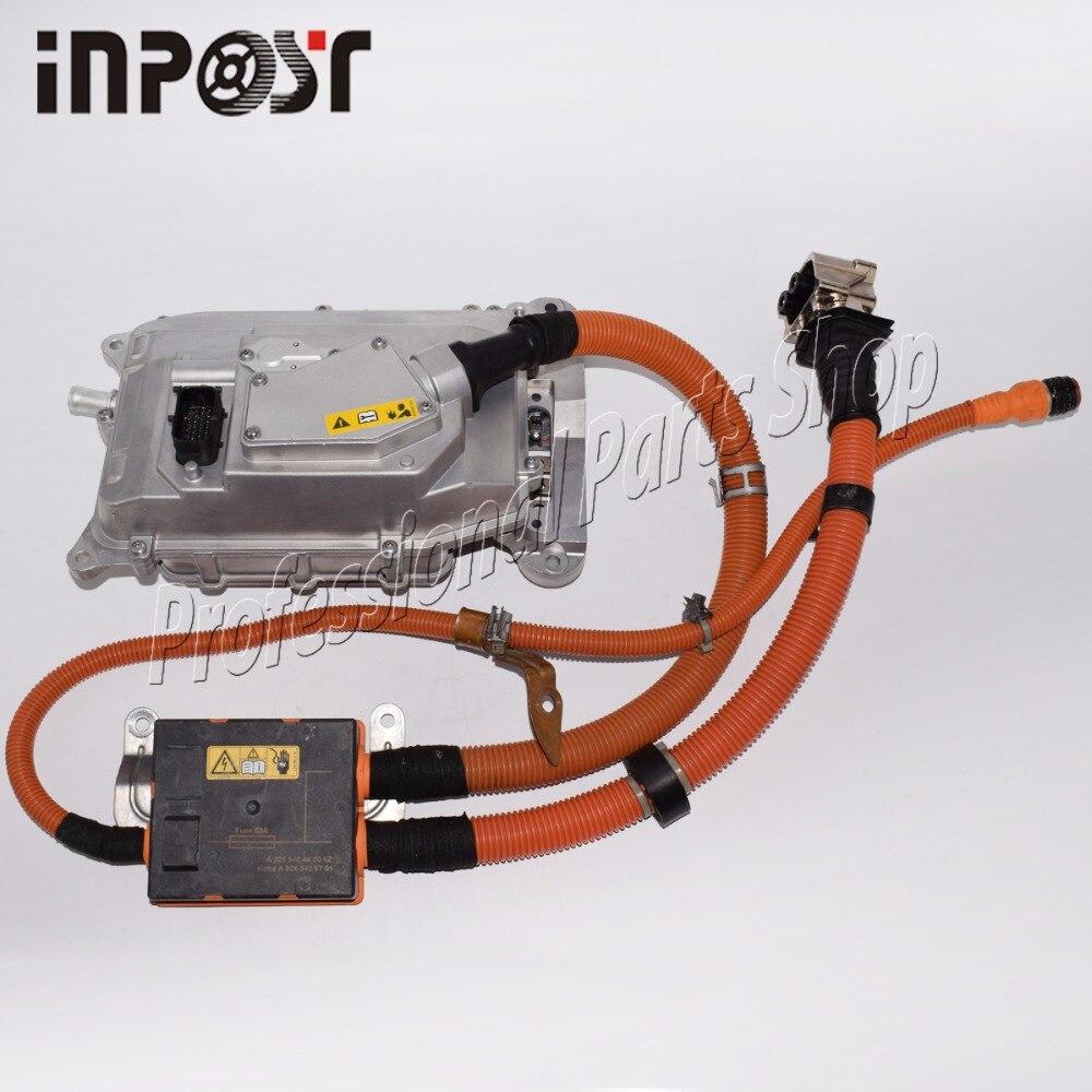 Para Mercedes W221 S400 S-clase híbrido cargador de batería inversor convertidor de la Asamblea 2215404450 y 0045459701 de 0009064703