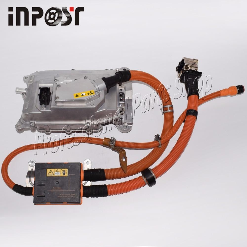 Pour Mecedes W221 S400 S-Classe Hybride Batterie Chargeur Onduleur Convertisseur L'assemblée 2215404450, 0045459701, 0009064703
