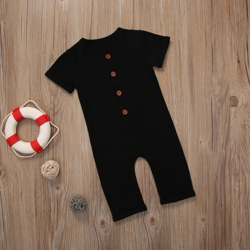 New Winter Newborn Toddler Baby Boy Girl   Romper   Little Babies Boys Girls Long Sleeve Solid Soft Jumpsuit Clothes Outfits 0-24M