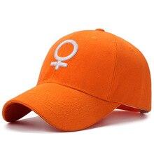 Embroidered Female Symbol Baseball Cap