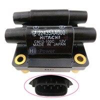 원래 CM12-100B 22435-AA000 Impreza Forester Legacy OEM 용 점화 코일 #22435AA000 CM12100B 22435 AA000