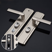 1Pair Furniture Hardware Door Handle Stainless Steel Durable Grip Indoor Accessories Outer Easy Install Anti theft Locks Safety