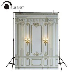 Image 1 - Фон для фотосъемки Allenjoy, роскошная мраморная стена, Европейский барочный декор, классический фон, фотореквизит