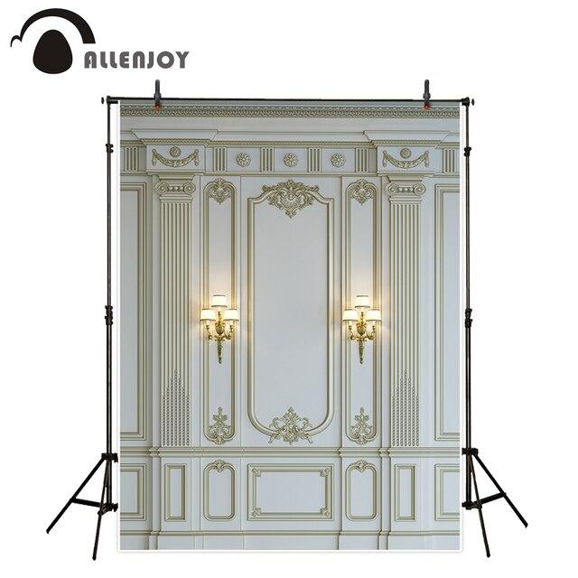 Фон для фотосъемки Allenjoy, роскошная мраморная стена, Европейский барочный декор, классический фон, фотореквизит