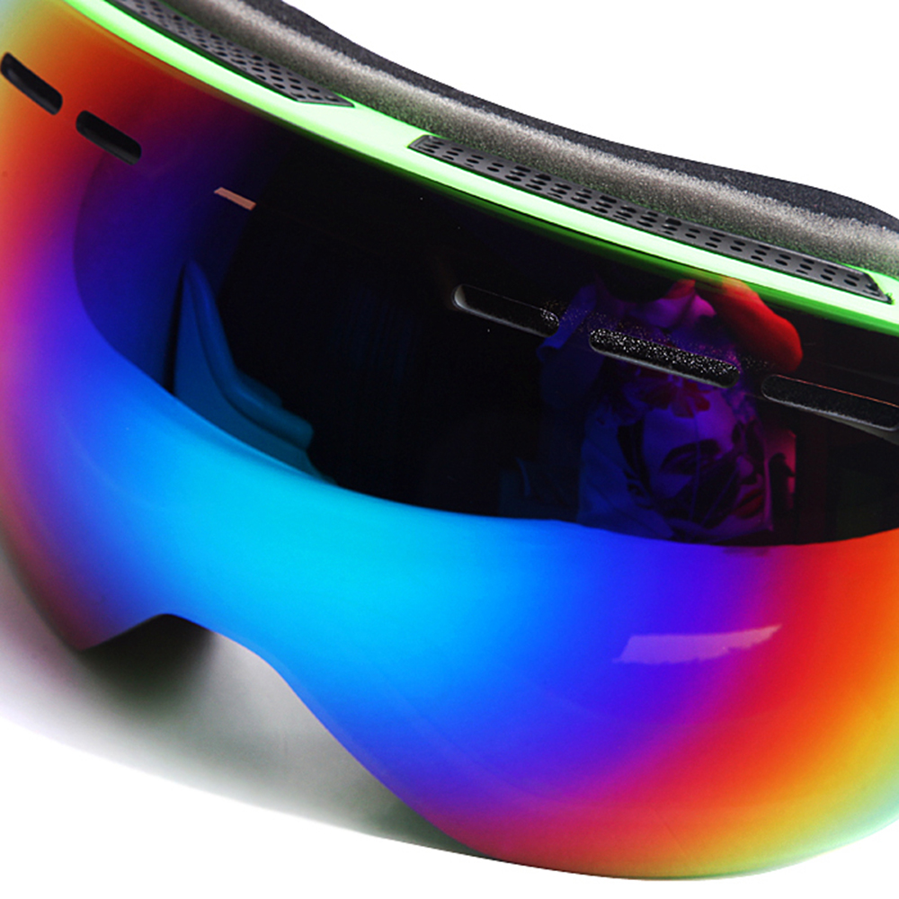 Wolfbike lunettes de Ski Gafas Ciclismo Sport lunettes de soleil hommes femmes Sport vélo lunettes moto Motocross Ski haut Transparent - 2
