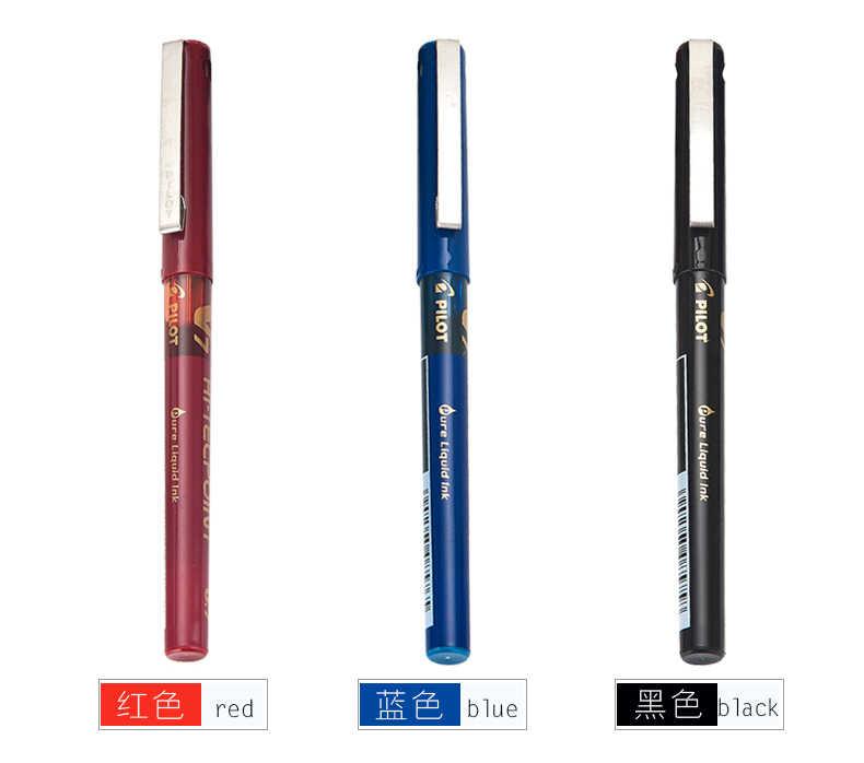 Pilot długopisy hi-tecpoint 0.5mm 0.7mm długopis żelowy V5 V7 jednorazowe pióro BX-V5 BX-V7 japonia