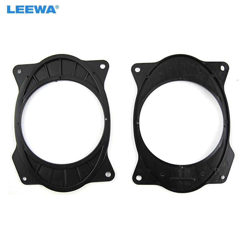 LEEWA 2pc <font><b>Car</b></font> Speaker <font><b>Mat</b></font> for Toyota Camry Reiz Corolla 2006-2011 <font><b>Lexus</b></font> <font><b>IS200</b></font>/IS300 Solid 6*9 To 6.5