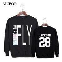 Alipop Kpop moda coreana 2016 got7 Flight log álbum vamos a volar en Seúl algodón Sudaderas k-pop jerséis sudaderas pt064