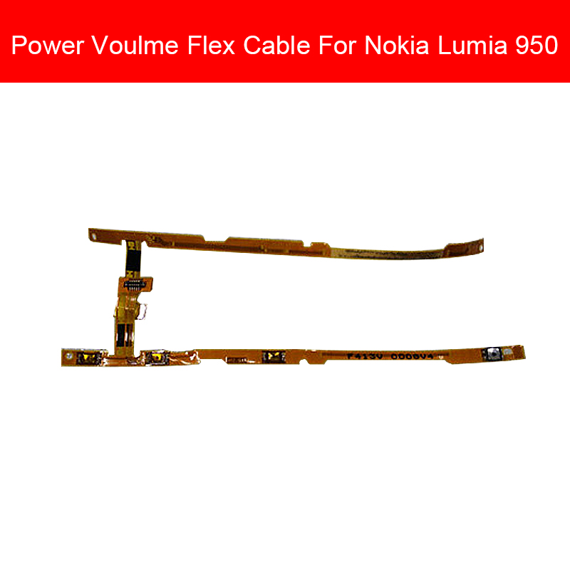 Volume & Power Screen Control Button Flex Cable For Nokia <font><b>Lumia</b></font> <font><b>950</b></font> Volume Power Key Switch Flex Ribbon Accessory Repair <font><b>Parts</b></font> image