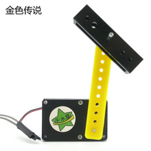 F19154 JMT Hand Crank Generator 2016 Version DIY Power Generation Experiment Physical Science Experiments Popular Science Toys