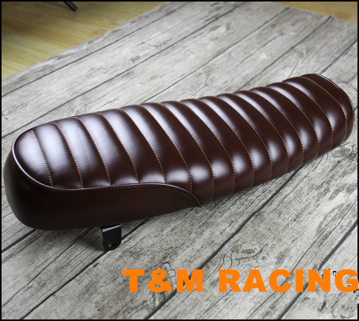 Hump Vintage Saddle Universal Cafe Racer Seat for SuzuKi GS Yamah XJ Honda