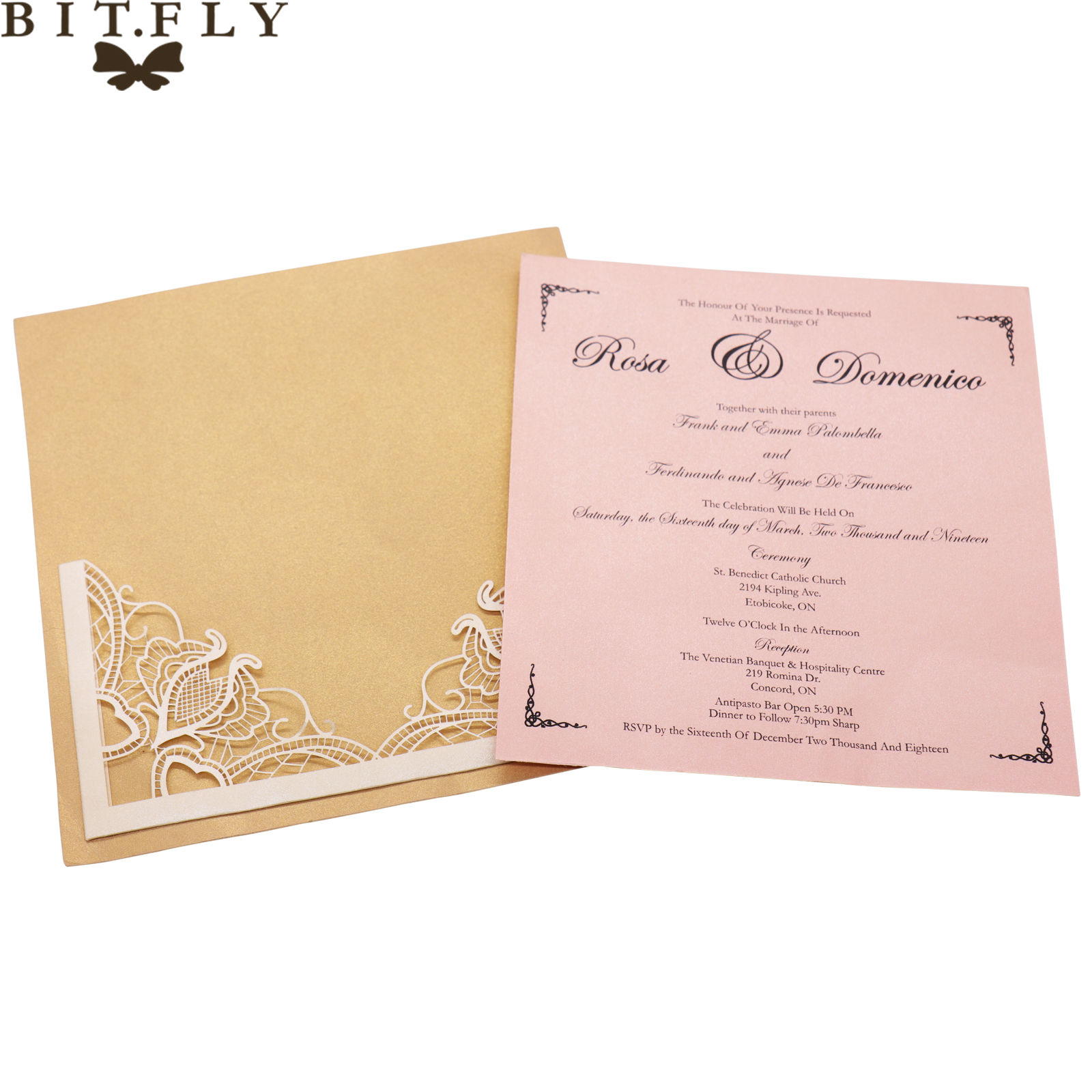 Us 8 86 50 Off 10 Pcs Lot Europe Style Wedding Pink Hollow Invitation Card Banquet Engagement Blank Inner Sheet Hollow Birthday Invitation In Cards