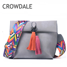 2019 New design Women bag PU leather Double tassel Clutch Shoulder bags Waist pack Crossbody Tas Tote Schoudertas Eenvoudige