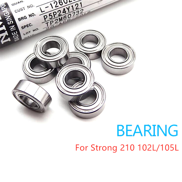 STRONG 210 102L/105L 35K 40K Micromotor Handpiece Ball Bearing Accessories Electric Drill Equipment 3 specifications Set of 4 pc