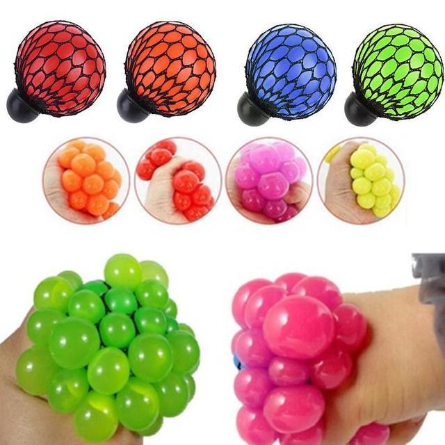 052e703d9 5 cm/7 cm wycisnąć zabawki Squishy piłka antystresowa winogron zabawki do  winogron anty stres