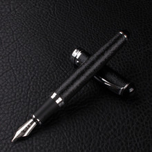 New Jinhao X750 Deluxe Matte black Medium Nib 18kgp Fountain Pen(China)