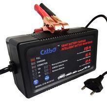 Bateria Da Motocicleta Carregador CATBO 6V12v All-Carregador de Bateria Inteligente 6 V Carregador Auto de Alta Potência