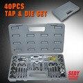 Hot HD PRO Grade 40PC Tap Die Set MM Metric Cutting Create Threads Screws Metal Tools 31-5