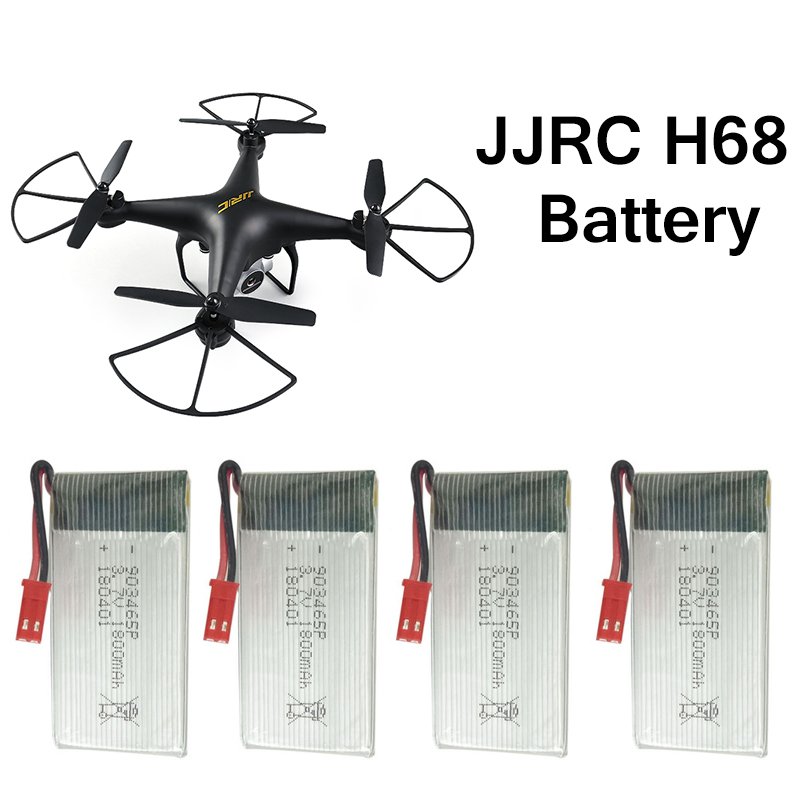 Spare Parts Accessories 3.7V 1800mAh Li-po Drone Battery Suit For JJRC H68 Battery For H68 RC Quacopter Helicopter Accessories