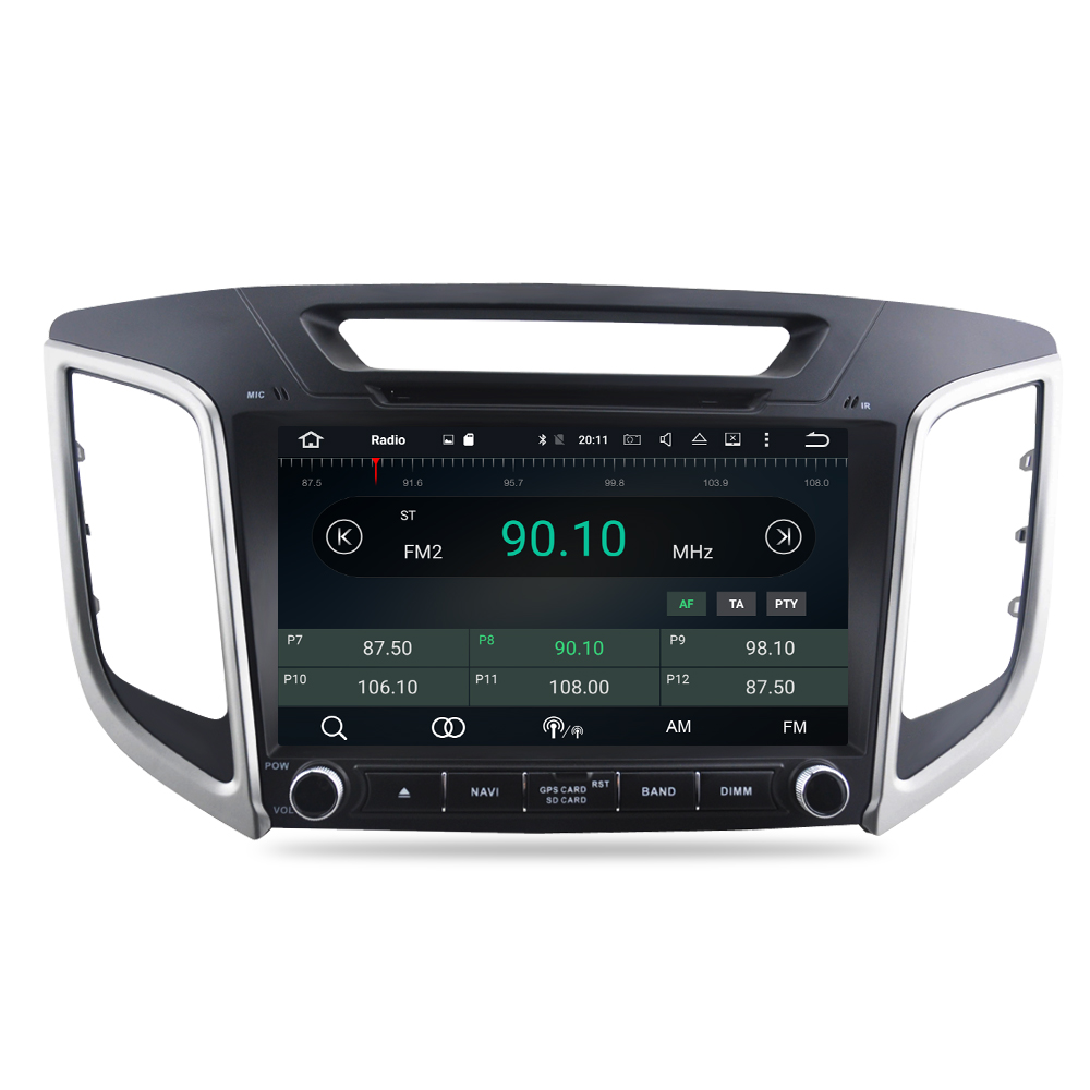 """Image 5 - 9"""" IPS Screen Android 9.0 Car DVD Player For Hyundai ix25 Creta 2014 2018 Stereo 2 Din Video GPS Navigation Radio FM Multimedia-in Car Multimedia Player from Automobiles & Motorcycles"""