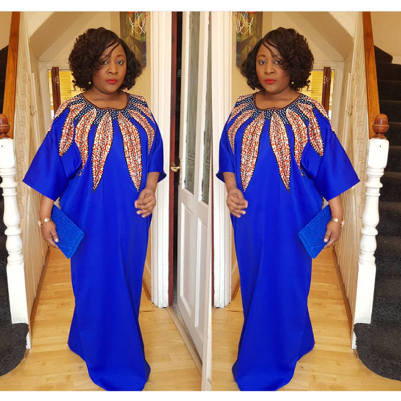 2018 New Fashion Elastic Dress For Women Elegant Traditional Print Dress(CPYZ#)