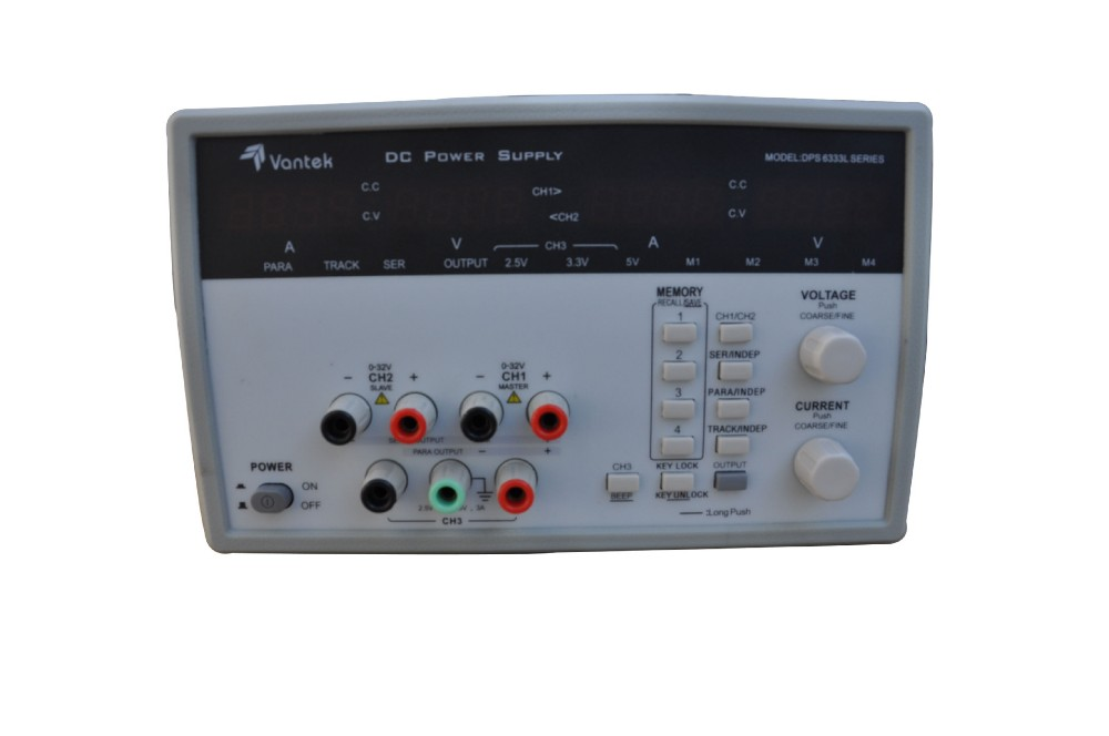 Yangzhong  Caltek  DPS6335L Programmable DC Power Supply  CH1,CH2 channel30 V / 5 A,CH3  2.5V/3.3V/5V/3A With USBinterface dps 210ep 2 tlm666 5v 12v 24v 26 general power supply 90 days warranty