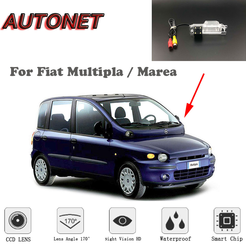 autonet hd night vision backup rear view camera for fiat multipla marea rca standard  [ 1000 x 1000 Pixel ]