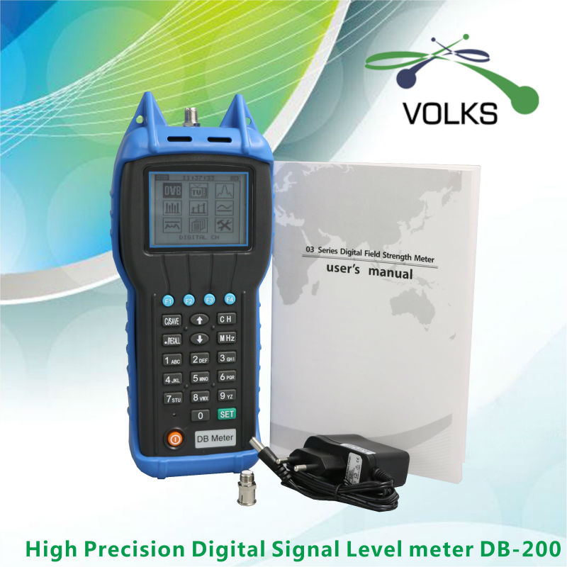 High Precision Digital CATV Signal Level Meter DB200