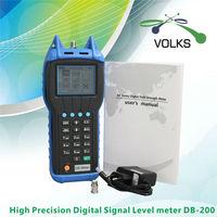 Medidor de nível db200 do sinal de catv de digitas da elevada precisão digital catv level meter level digital -