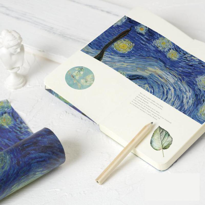 To Van Gogh Decorative Washi Tape Diy Scrapbooking Masking Tape School Office Supply Escolar Papelaria настенные часы vincent van gogh fd8635