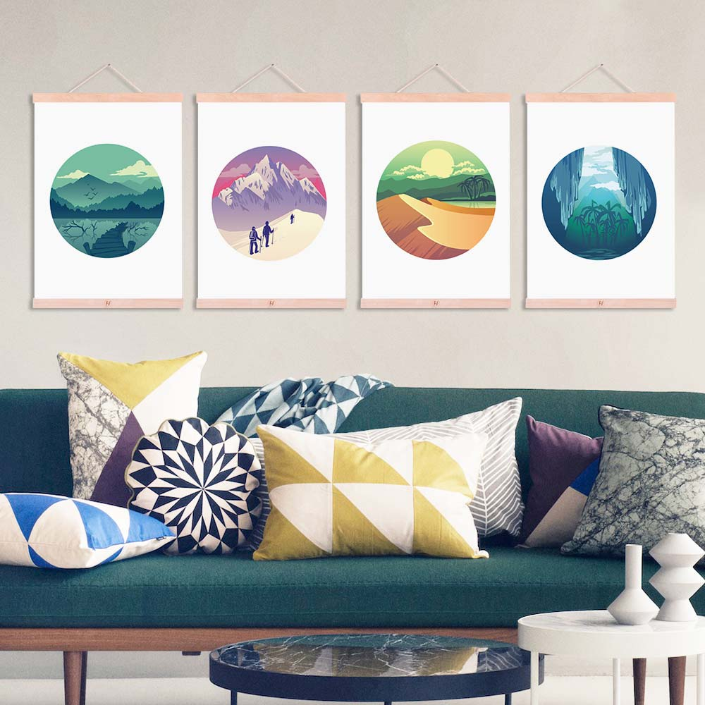 online buy wholesale hiking art from china hiking art wholesalers natural adventure hiking mountains travel framed canvas paintings modern nordic home decor wall art print pictures