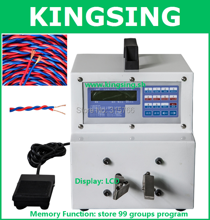 WK 20 2 220V Twisted Pair Making Machine Cable Twisting Machine For Wire Harness Processing Industry machine winding picture more detailed picture about wk 20 2(220v wire harness testing at crackthecode.co