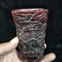 Коллекция старый носорог роговый костяной чашка, изысканный дизайн, ручной работы