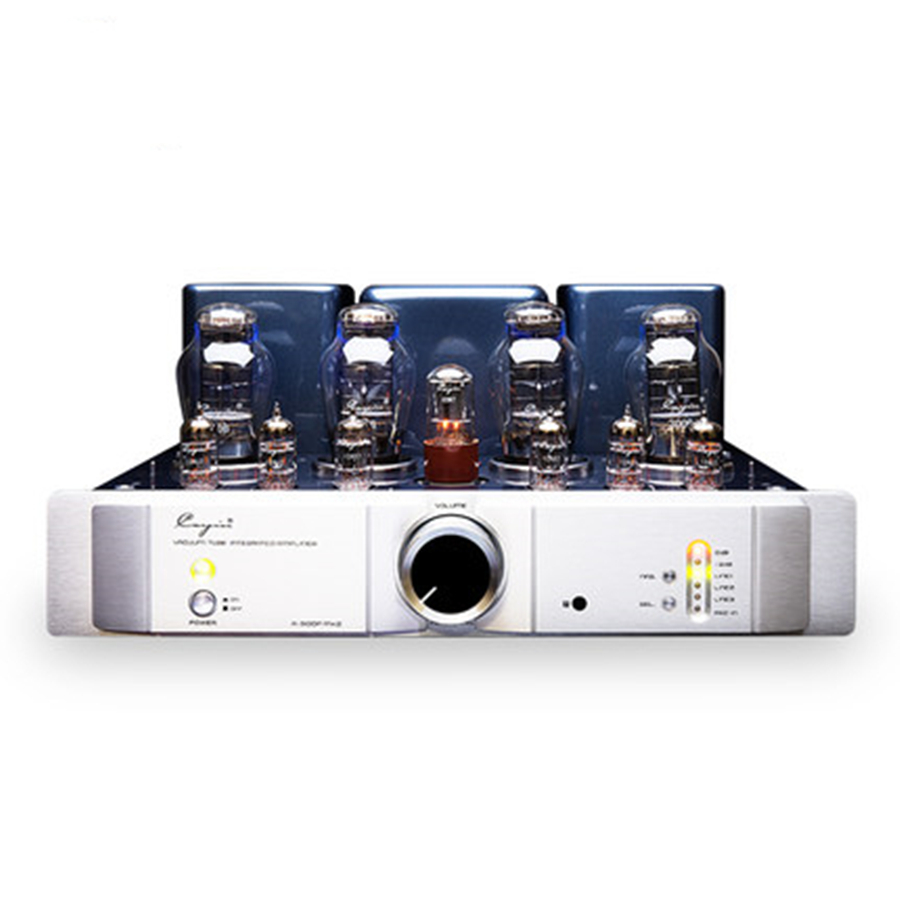 QUEENWAY CayinA-300PMK2 vacuum Tube amp 300Bx4 Integrated Power amplifier BIAS ADJ HUM BALANCE 20W*2 Can be pure power amplifier queenway w4 8 fully direct heated tube power amplifiers use 2a3 tube hifi amplifier