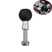 Set Motorcycle Handlebar Clamp Base With 1 Ball M8 Screws