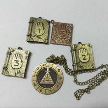0 Bill Cipher Boss Journal Memo Waddles Journal Number 1 2 3 Necklace Pendant Cosplay Costume
