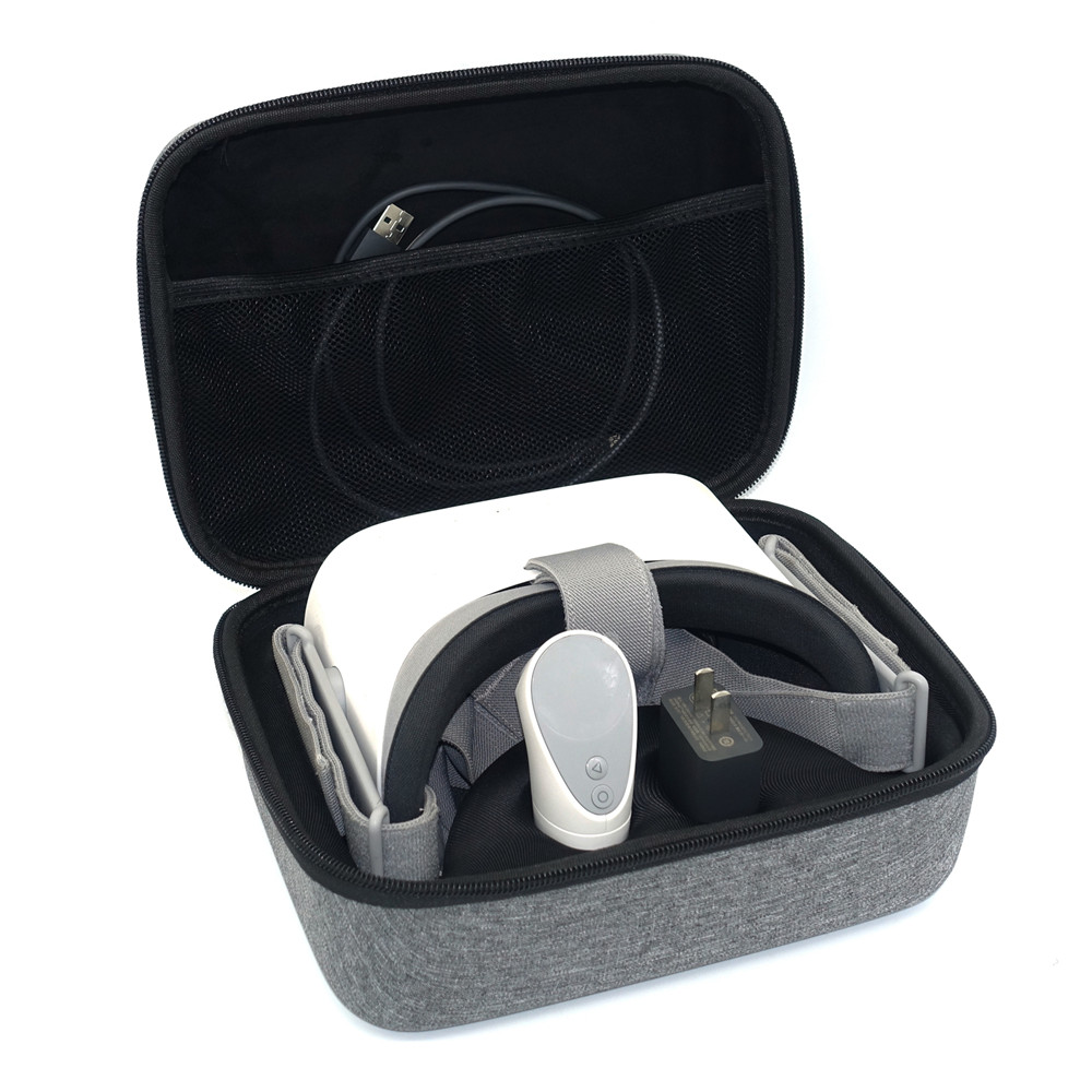 Voyage Carring Couverture de Sac À Main Cas Pour Oculus Aller VR Casque Télécommande Tous Les Accessoires De Stockage Cas Sac