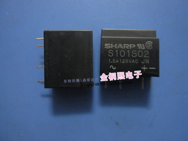 Original new 100% hot spot relay S101S02 quality assurance