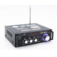 BT 298A 12V 220V Car HIFI Amplifier Audio Stereo Power Amplifier Bluetooth FM Radio 2CH Home Audio Video Home Theatre System