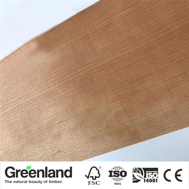 Cherry(Q.C) Wood Veneers Size 250x20 Cm Table Veneer Flooring DIY Furniture Natural Material Bedroom Chair Table Skin