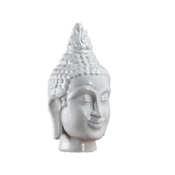 Buddha Head Statue Buddha Figurine Sculptures Ceramic Art&Craft Southeast Asian Style Buddhism Home Decorations R29