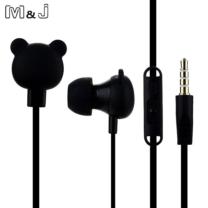 M&J crtić slatka slušalica 3.5mm u uho žičana slušalica s - Prijenosni audio i video - Foto 5