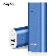 Easyacc 6400 мАч power bank 2.4a смарт выход 18650 внешняя батарея портативное зарядное powerbank для xiaomi mi5 redmi3
