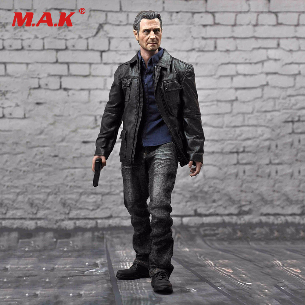 Collection 1/6 Full Set Male Figure F20 Rescuer Liam Neeson Action Figure Taken Bryan Mills Male Action Figure Model Toys Gift 1 set male